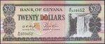 Guyana  20 Dolar