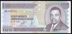 Burundi  100 Franks