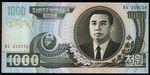 1000 Won  Severni Korea