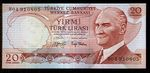 Turecko  20 Lirasi