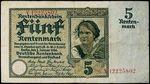5 Rentenmarka 1926