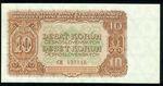 10 Koruna 1953