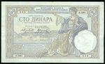 Jugoslavie  100 Dinar