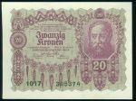 20 Koruna 1922