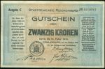 20 Koruna 1919