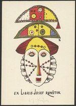 Ex libris Josef Runsuk