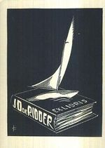 Ex libris J D  de Rioder