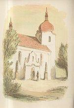 Pred kostelem