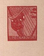 Ex libris L  Mecnarovsky