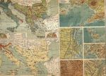 Nebenkarten zur Balkan und Apenninen  Halbinsel