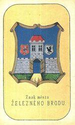 Znak mesta Zelezneho Brodu