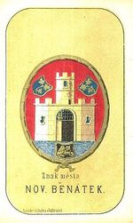 Znak mesta Nov  Benatek