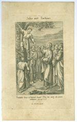 Jezis a Zacheus