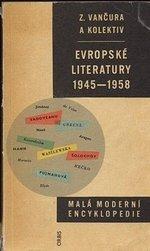 Evropske literatury 1945  1958