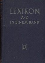 Lexikon AZ in einem Band