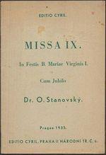 Missa IX In Festis BMariae Virginis I  Cun Jubilo