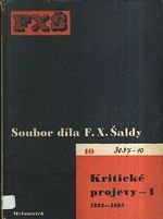 Soubor dila F X  Saldy  Kriticke projevy 1  18921893