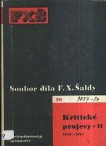 Soubor dila F X  Saldy  Kriticke projevy 11  19181921