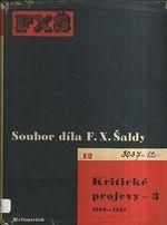 Soubor dila F X  Saldy  Kriticke projevy 3  18961897