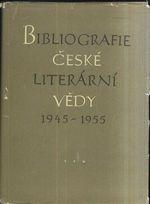 Bibliografie ceske literarni vedy 1945  1955