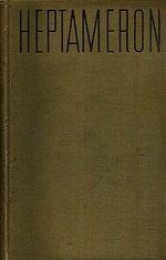 Heptameron novel prevznesene a preslavne princezny Markety dAngouleme  kralovny Navarske