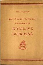 Devitidenni poboznost k blahoslavene Zdislave Berkovne
