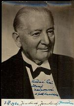 Jindrich Jindrich  hudebni skladatel  podpis