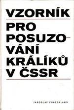 Vzornik pro posuzovani kraliku v CSSR