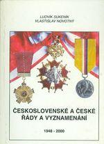 Ceskoslovenske a ceske rady a vyznameni 1948  2000  II  dil
