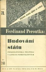Budovani statu  Obzalovani socialiste