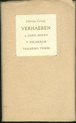 Emile Verhaeren a jeho misto v dejinach volneho verse