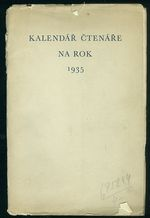 Kalendar ctenare na rok 1935