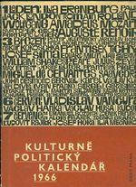 Kulturne politicky kalendar 1966
