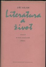 Literatura a zivot  Studie o nasi soucasne proze
