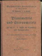 Planimetrie und Stererometrie