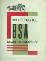 Motocykl BSA nejspolehlivejsi
