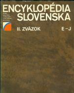 Encyklopedie Slovenska  II  zazok E  J