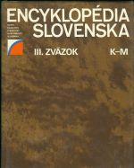 Encyklopedie Slovenska  III  zazok K  M