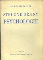 Strucne dejiny psychologie