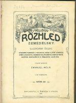 Melisuv Rozhled zemedelsky  illustrovany casopis - Melis Emanuel | antikvariat - detail knihy