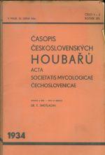 Casopis ceskoslovenskych houbaru  roc  XIV