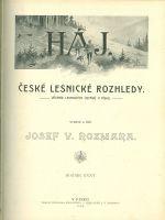 Haj  Ceske lesnicke rozhledy  Lovecky obzor  Casopis pro myslivce a pratele prirody