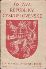 Ustava republiky Ceskoslovenske