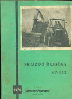 Sklizeci rezacka SP  152