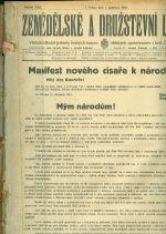 Zemedelske a druzstevni listy  roc  XXII  | antikvariat - detail knihy