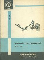 Dopravnik zrna stavebnicovy DoZS  100