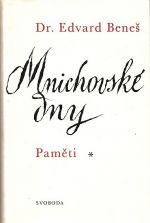 Mnichovske dny  Pameti