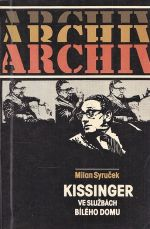 Kissinger ve sluzbach Bileho domu