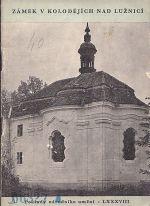 Zamek v Kolodejich nad Luznici