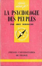 La Psychologie des Peuples